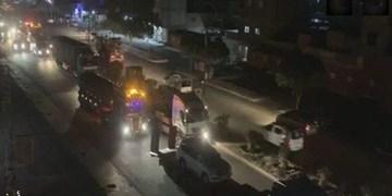 ورود 60 خودروی نظامی آمریکا از عراق به شمال شرق سوریه
