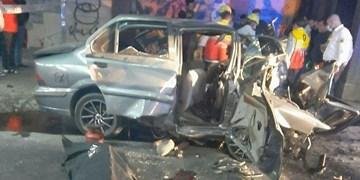واژگونی سمند در تبریز 5 کشته و زخمی برجای گذاشت+ عکس