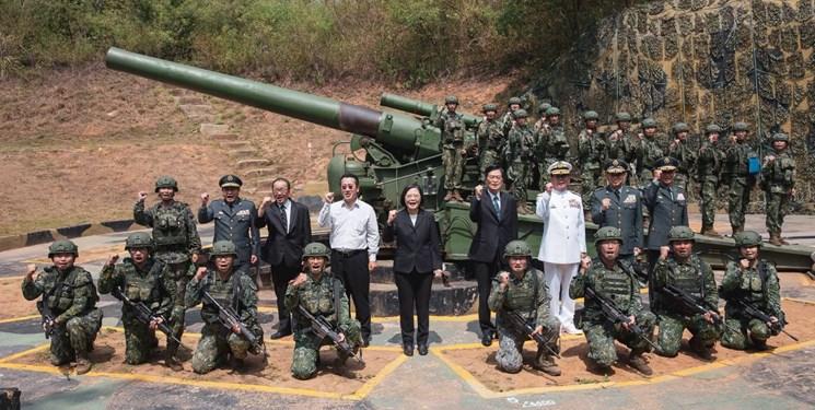 ارتش تایوان: حق دفاع از خود در برابر تهدیدها را داریم
