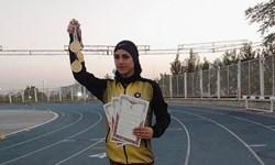 قهرمانی و رکوردشکنی مریم محمودی، سریعترین دختر ایران