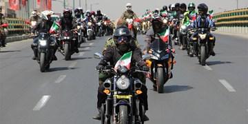 راهپیمایی خودرویی و موتوری ۲۲ بهمن در تهران
