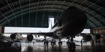 تکمیل آشیانه تعمیراتی هواپیمای فلایت چک
