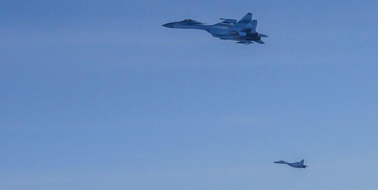 رهگیری هواپیماهای نظامی روسیه از سوی جنگنده «یوروفایتر» آلمان
