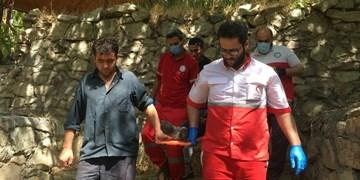 سقوط جوان ۲۶ ساله از ارتفاعات شمیرانات