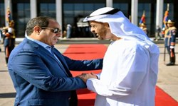 رایزنی ولیعهد ابوظبی با رئیس جمهور مصر درباره تحولات منطقه