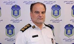 اعمال قانون ۵۰۰ هزار تومانی برای ۳۸ خودرو در شهر کرمانشاه