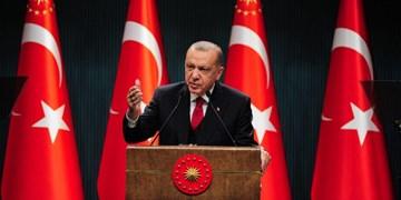 تنشهای مدیترانه   اردوغان: توازن منطقه را برهم بزنید، قبر خودتان را میکنید