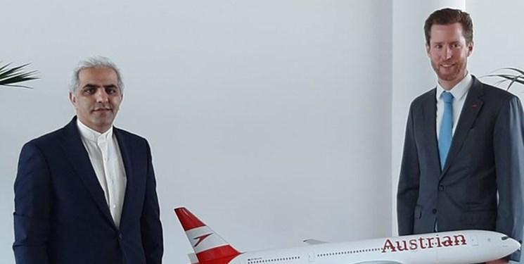 تلاش برای برقراری مجدد پروازهای هواپیمایی اتریش به ایران