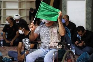 در این مراسم جمعی از توانخواهان  جسمی استان خوزستان شرکت کردند