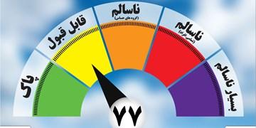 کیفیت هوای امروز مشهد