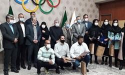 هدیه ۱۰ میلیونی کمیته ملی المپیک به ۴ بانوی دوومیدانی کار+ عکس