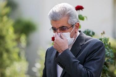 رضا اردکانیان وزیر نیرو پس از پایان جلسه هیأت دولت/ ۲ مهر ۱۳۹۹