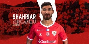 یک بازیکن ایرانی دیگر در لیگ پرتغال/مغانلو به سانتاکلارا پیوست