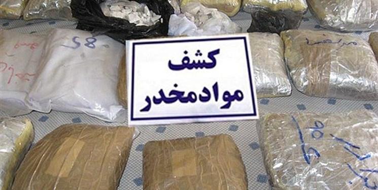 کشف 2 تن و 214 کیلوگرم مواد افیونی درسیستان و بلوچستان