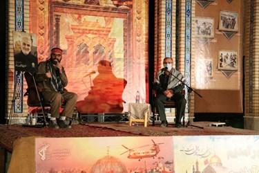 خاطرهگویی سردار سیدمحمدتقی شاهچراغی، از پیشکسوتان ایثار و شهادت در همایش پیشکسوتان دفاع مقدس در سرخه
