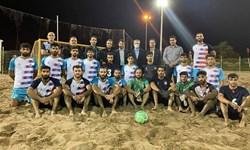 برگزاری مرحله نهایی لیگ برتر فوتبال ساحلی در هاله ای از ابهام
