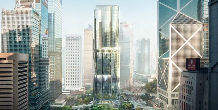 ساخت آسمان خراش به شکل گل ارکیده در هنگ کنگ