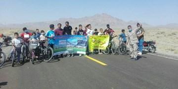 برگزاری رقابتهای دوچرخهسواری هفته دفاع مقدس در بیارجمند+ تصاویر