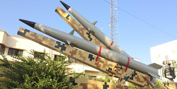لانچر دو فروندی موشک «رعد -500» به نمایش درآمد
