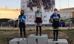 قهرمانی هرمزگان در مرحله اول لیگ دوچرخهسواری بانوان