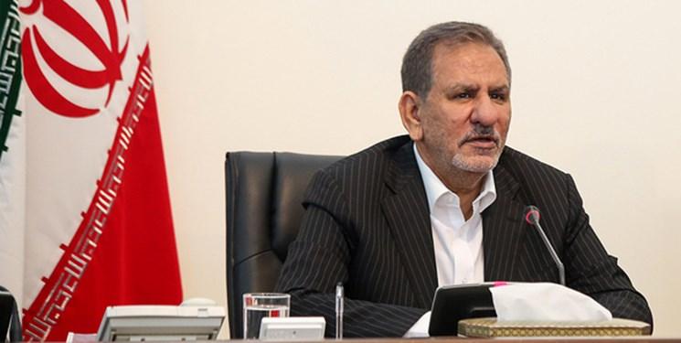 جهانگیری: باید با کمک دولت و مجلس مشکلات شهر مشهد مرتفع شود