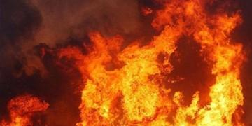 مهار آتشسوزی یک دامداری در نمین