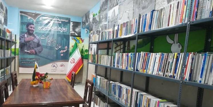 افتتاح چهارمین کتابخانه توسط گروه جهادی شهدا به نام «شهید همت» + عکس و فیلم
