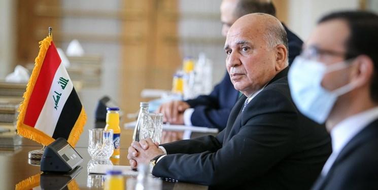 وزیر خارجه عراق: حامی فلسطین هستیم و سازش با اسرائیل مطرح نیست