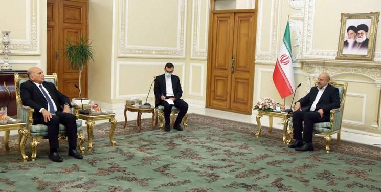 قالیباف: خروج آمریکا تنها راه حل مشکلات عراق است/ تاکید بر اتصال راهآهن بصره – خرمشهر