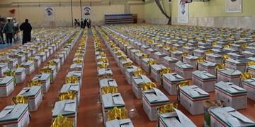 توزیع بیش از ۱۱۰ هزار بسته معیشتی توسط قرارگاه مواسات خراسان شمالی