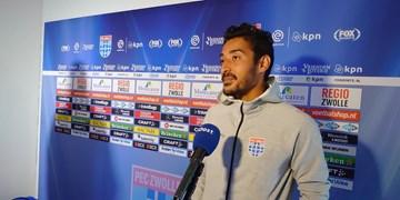 لیگ فوتبال هلند| نیمکت نشینی قوچان نژاد در دیدار زووله مقابل فورتونا ستارد