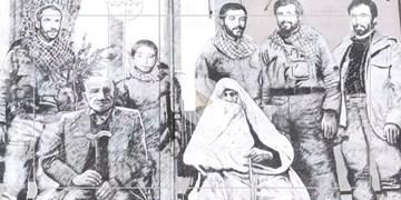 دیوارنگار شهدای افراسیابی: حس خانوادهبودن و صمیمیت را منتقل کردم