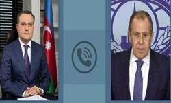 وزیر خارجه روسیه با همتای آذربایجانی خود گفتوگو کرد