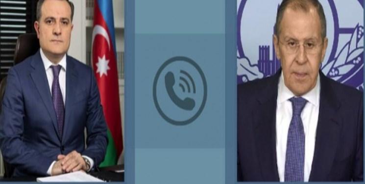 تماس تلفنی وزیر خارجه روسیه با همتایان آذربایجانی و ارمنستانی