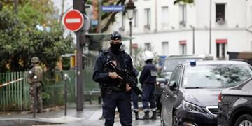 حمله با سلاح سرد به پلیس در «پاریس»