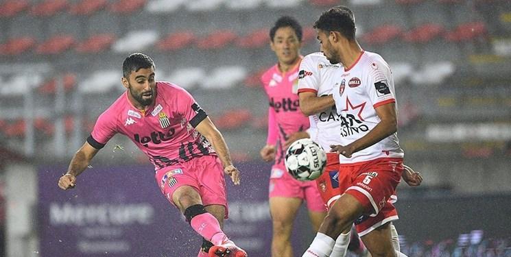 هفته نهم لیگ بلژیک|شکست شارلروا در حضور بازیکنان ایرانی