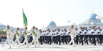 برگزاری رژه به مناسبت روز استقلال در ترکمنستان