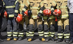 تجلیل از آتشنشانان اسلامشهر