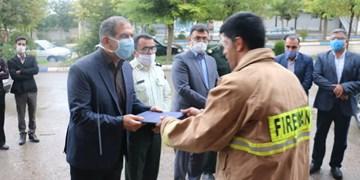 نوسازی ناوگان آتشنشانی کیاسر