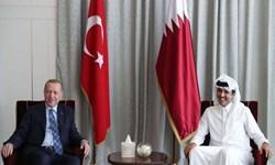 اردوغان و امیر قطر درباره روابط راهبردی دوجانبه گفتوگو کردند