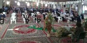 برگزاری آیین بزرگداشت ۷۹ شهید شهر کلاتهخیج+ تصاویر