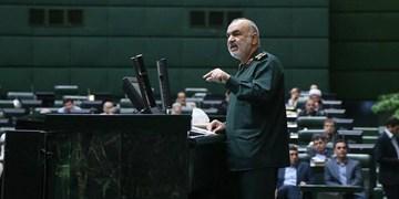 سرلشکر سلامی: آرزوهای سیاسی آمریکا برای خاورمیانه را به قبرستان سپردیم/ آمریکا را مجبور به فرسایش قدرت کردیم