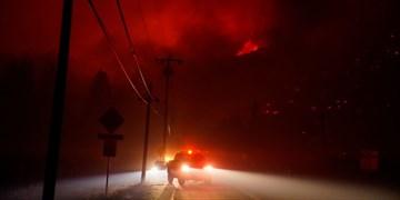 اتصالی، علت آتشسوزی ترانس برق در سلطانآباد