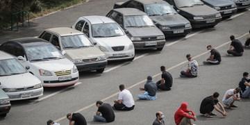 عکس| سارقانی که در چنگ قانون گرفتار شدند