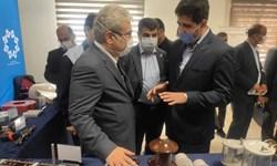 بازدید معاون علمی و فناوری رئیس جمهوری از نمایشگاه گروه ایران ترانسفو