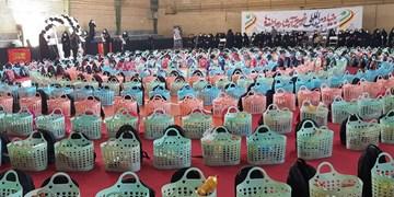 فیلم| توزیع ۱۵۰۰ بسته معیشتی و تحصیلی در جنوب تهران