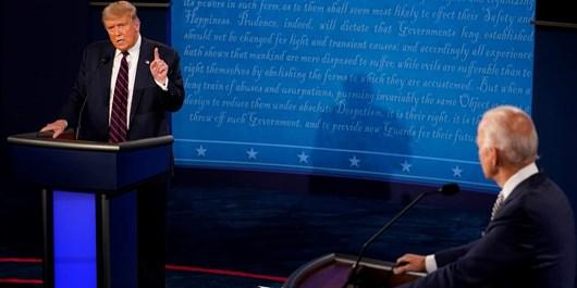 سه هفته تا انتخابات ریاستجمهوری آمریکا  بررسی آخرین وضعیت نظرسنجیها