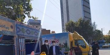 اجرای طرح «همبازی برای بچههای ایران، اسباب شادی رو بساز» در مازندران
