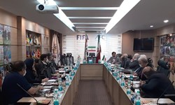 برگزاری جلسه فولادیها و کمیته صدور مجوز حرفهای