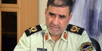 آمادگی پلیس کرمانشاه برای کنترل تردد ۵۰۰ هزار زائر اربعین از مرز خسروی